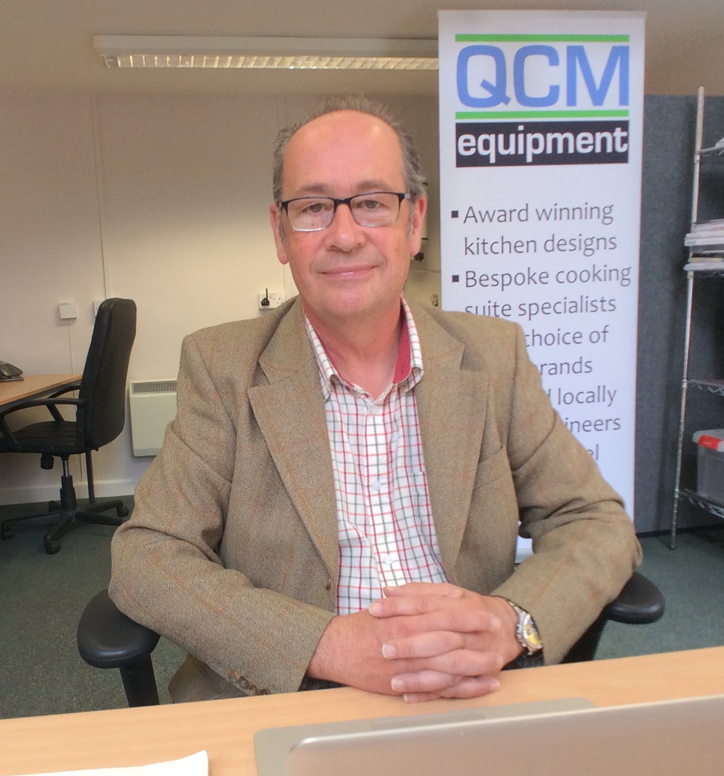 QCM's Gerry Oakley praised the distributor's relationship with Hobart.