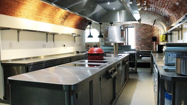 Garners outfitted the kitchen using Induced Energy induction cooking equipment.