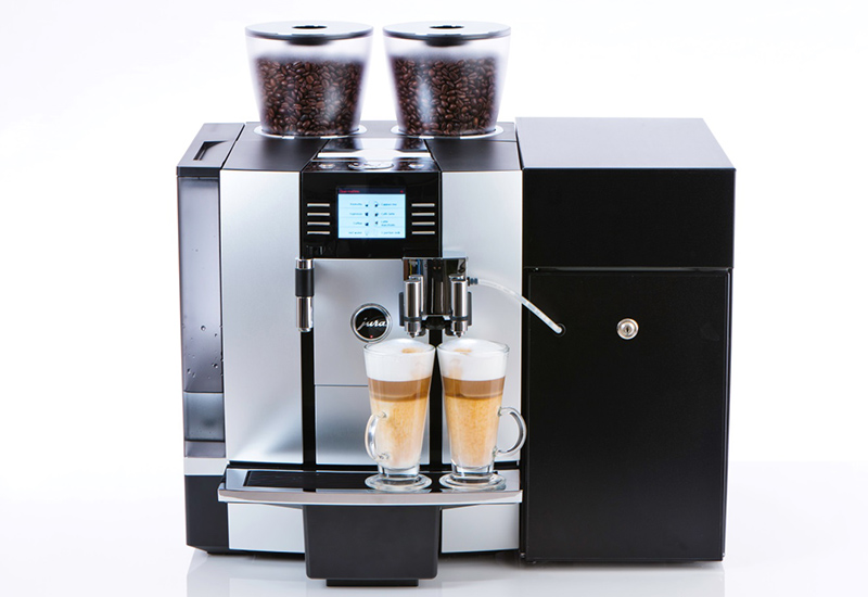 Caffia will be exhibiting units such as this Jura Giga bean to cup coffee machine at Innoveat tomorrow.