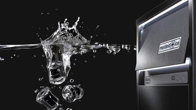 Dual-branded Maidaid and Brema ice makers will be available in the UK.