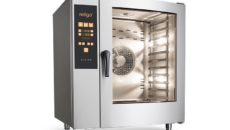The new app allows users to try out the Retigo Orange Vision combi oven controls.