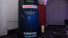 The Hobart-sponsored photo booth was on hand throughout the Catering Insight Awards.