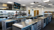 Brakes' new innovation centre features a training kitchen.