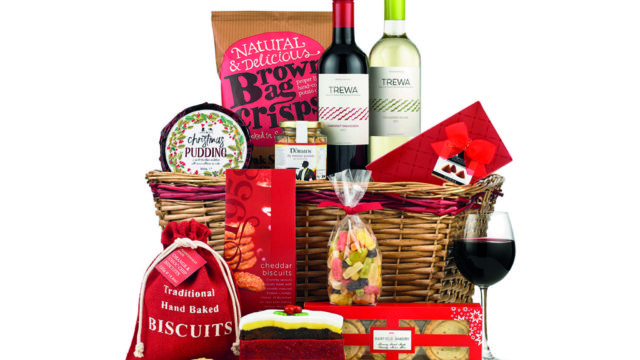 Distributors which place an order of £2,000 or more with RH Hall before the end of December will qualify for this Christmas hamper.