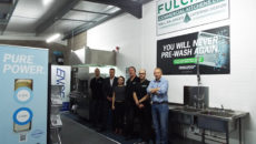 The Fulcrum team in the new Granuldisk area at its Marlborough offices.