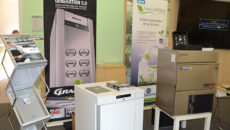 Hoshizaki was one of the Cedabond suppliers demonstrating its latest products to distributors.