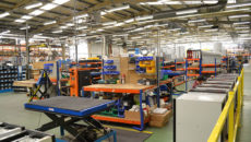 IMC's factory reorganisation has increased productivity by 60%.