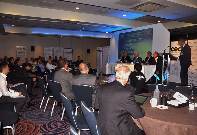 A session on warranty issues generated lively debate.