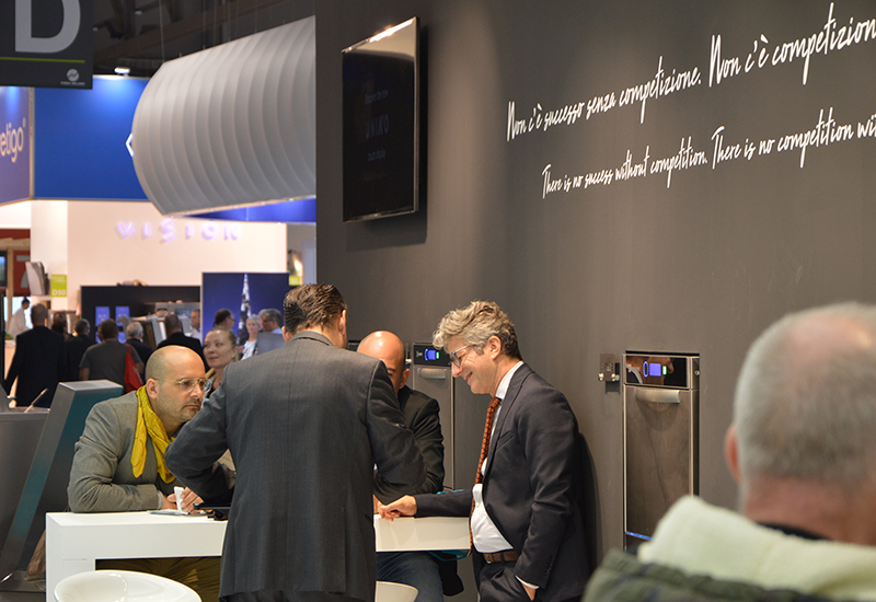 Krupps stand proved to be busy at Host.