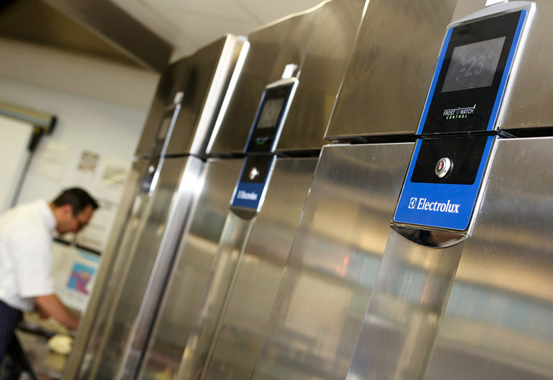 Research & Markets identified Electrolux as one of the biggest players in the commercial refrigeration equipment market.