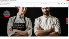 Eloma's new website homepage.