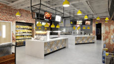 One of the HSBC HQ catering areas RDA is designing.