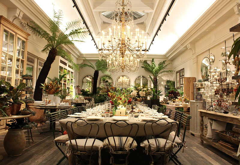 PKL helped Petersham Nurseries host a charity supper at the end of last month.