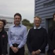 The three generations of Keals: marketing director Irene, MD Martyn, founder Derek and electrical engineer Ben.