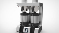 Brewing on Marco's Jet Twin water boiler can be fully automated.