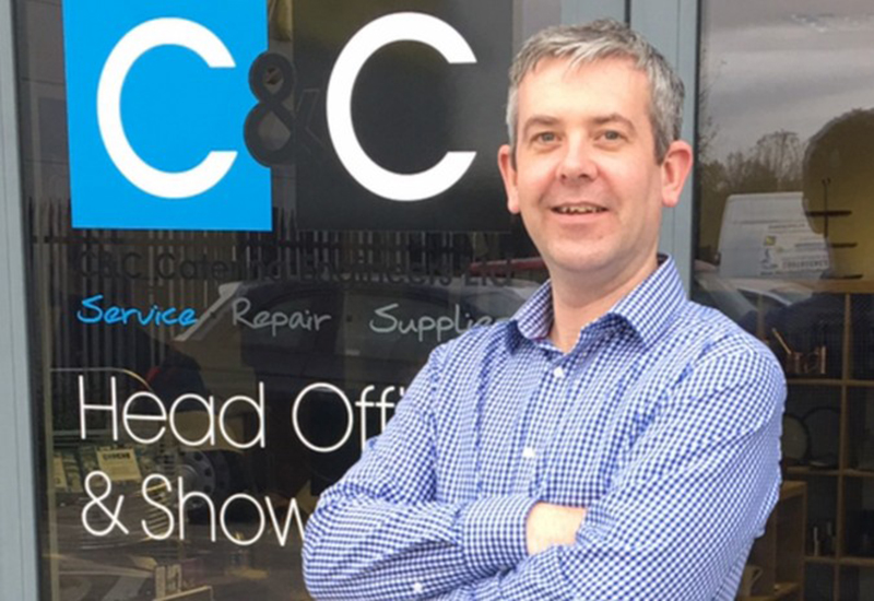 C&C Catering Engineers' new director Keith Hartharn.