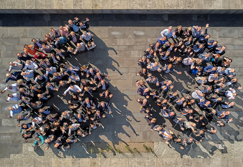Testo staff celebrated 60 years of the company being in business.