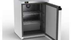The Precision HPU150 compact undercounter fridge achieved an A rating.