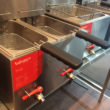 Valentine's new TF55 table-top twin tank, twin basket fryer.
