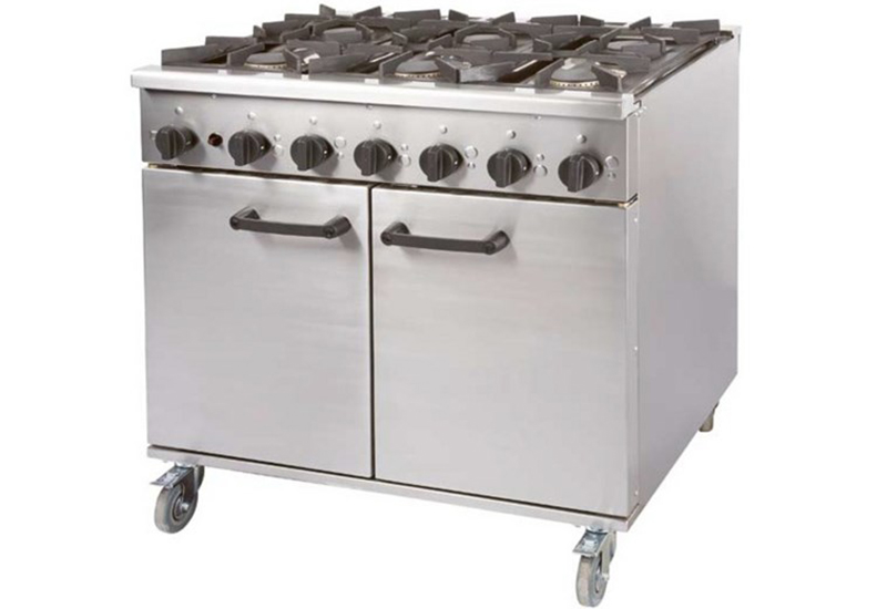 eCatering is discounting the price of this Burco Titan six burner gas range cooker as part of its Black Friday deals.