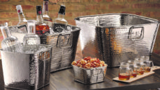 American Metalcraft has introduced hammered beverage tubs to its portfolio.