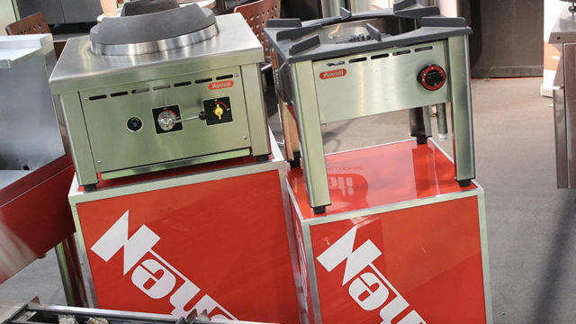 Nayati has 30 years' experience of manufacturing Asian cooking equipment.