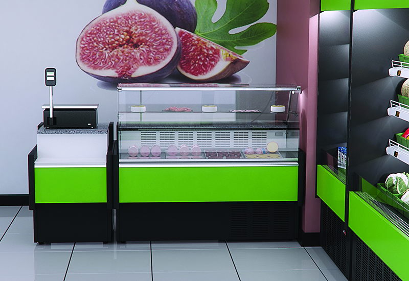 Prodis' Araya serve over counters are included in its Christmas dealer promotion.