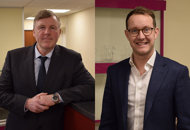 Peter Overton (left) and Paul Kitchin have joined the Acme board.