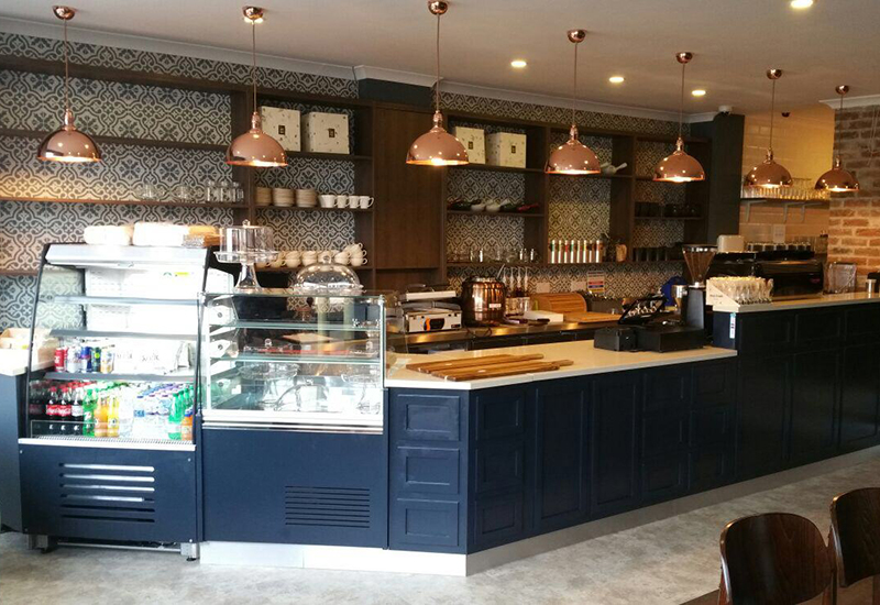 Thornton Heath-based Catersales designed and outfitted Coffee at 412.