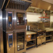 The KCCJ-outfitted Bloomberg London production kitchen.