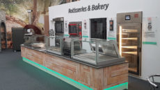 Euro Catering's Culinary Centre is divided into equipment zones.