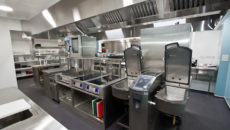 CCE outfitted the new kitchen for Les Rocquettes Hotel in St Peter Port, Guernsey.