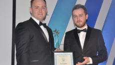 Paul Holder (left) and Callum Kennedy are two of the CEDA Academy's founding members.