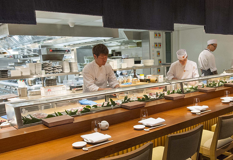 CES designed and outfitted Nobu's new site in London.